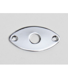 GOLDO - Jack Plate, oval, recessed jack mount