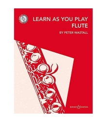 Peter Wastall - Learn As You Play Flute (BK/CD)