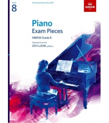 ABRSM - PIANO EXAM PIECES 2017-18 GRD 8