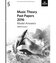 ABRSM - MUSIC THEORY PAST PAPERS 2016