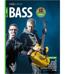ROCKSCHOOL - BASS GRADE 2 2018+