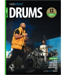 ROCKSCHOOL - DRUMS GRADE 2 2018+
