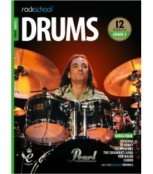 ROCKSCHOOL - DRUMS GRADE 3 2018+