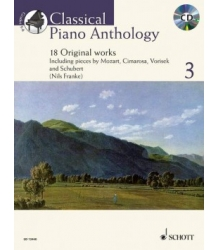 CLASSICAL PIANO ANTHOLOGY 3 + CD