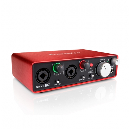 FOCUSRITE - SCARLETT 2I2 2ND GEN